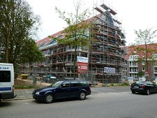 Bautenstand des 3. Bauabschnitts Residenz Hohe Lith